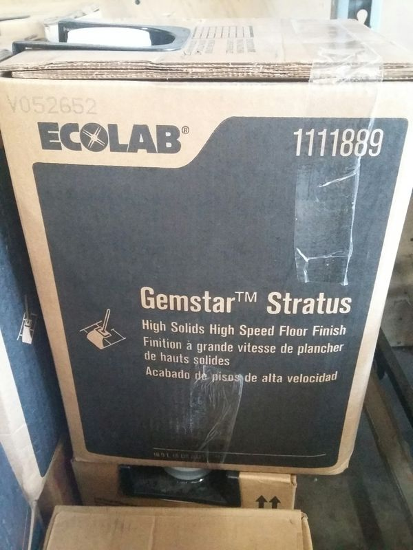 Ecolab Commercial Floor Wax Stripper And Cleaner For Sale In Orlando - Commercial floor wax for sale