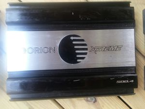 Orion Xtreme amp 500.4 for Sale in Richmond, VA