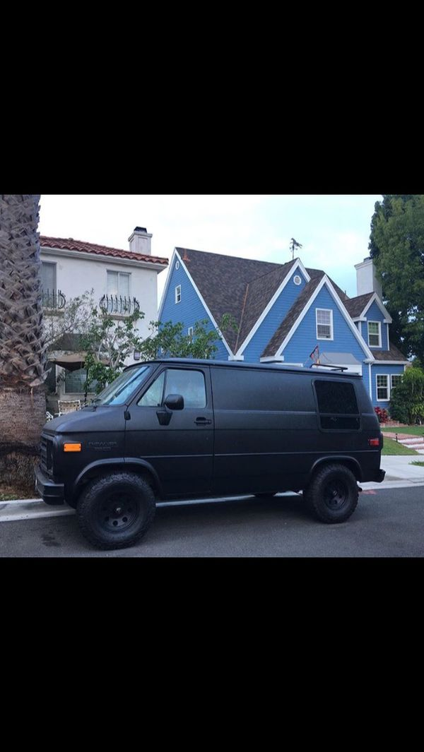 1987 Chevrolet G20 Van ✓ All About Chevrolet
