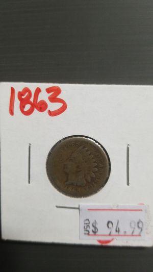 1863 Indian Head penny Civil war Era for Sale in Olathe, KS