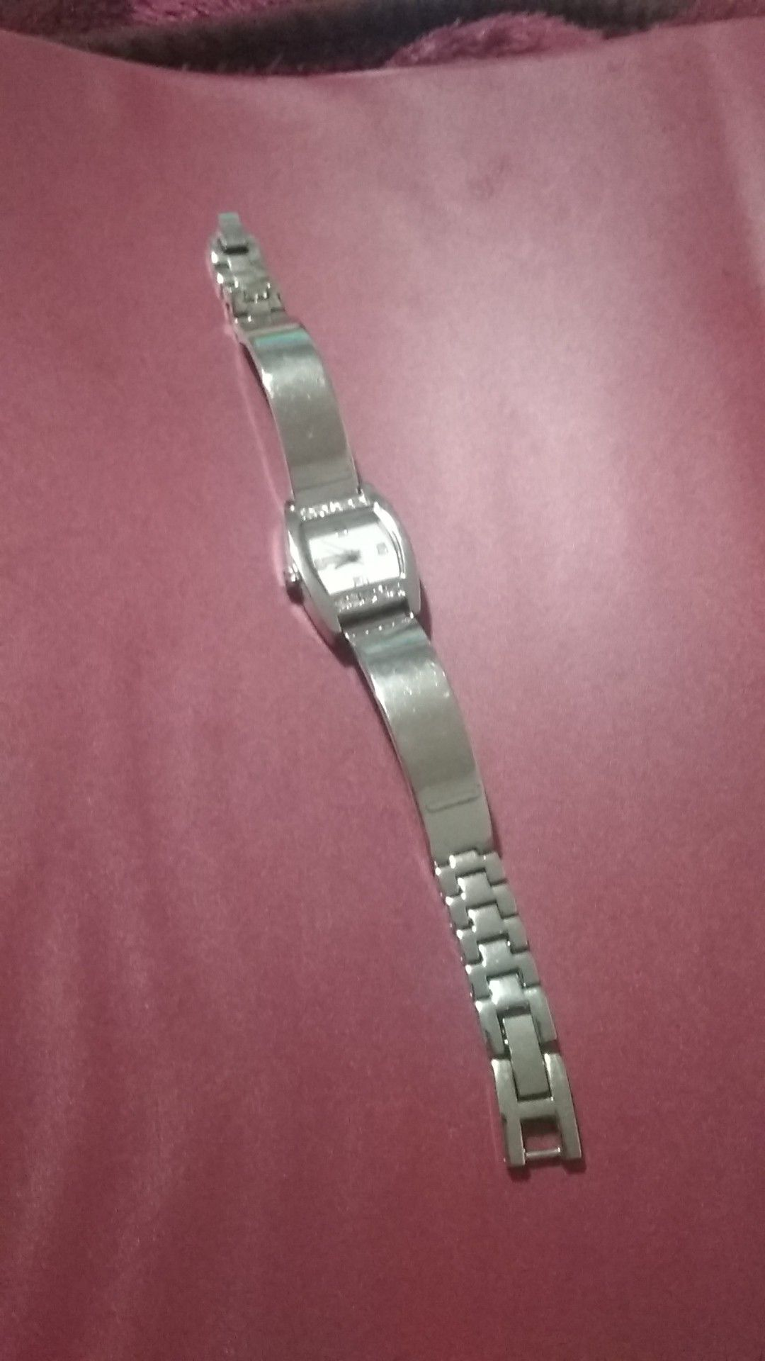Movt siver watch new battery great condition