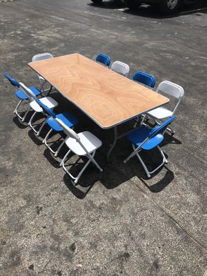 Kids chairs and tables for sale for Sale in Miami, FL