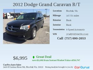 New and used dodge for sale in suffolk va offerup 2012 dodge grand caravan for sale in norfolk va publicscrutiny Image collections