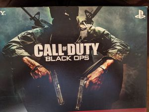 Photo PlayStation 3 COD Black ops bundle