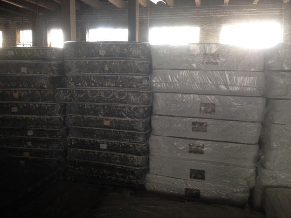Orthopedic mattress and box spring