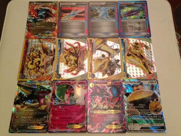 Value Pack 12 Ultra Rare Pokemon Tcg Cards Including 4