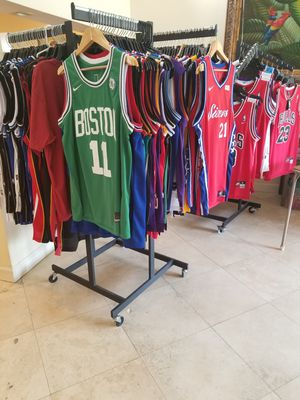 NBA BASKETBALL THROWBACK JERSEYS. NEW AND VINTAGE NIKE ADIDAS AND MITCHELL  AND NESS for Sale 135493635