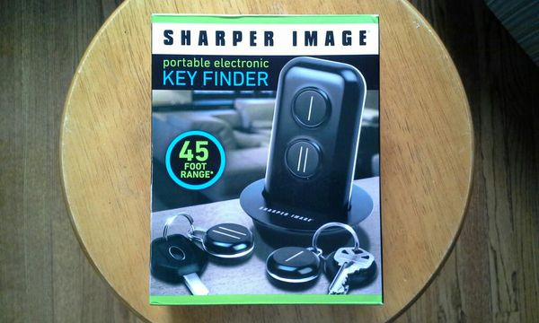 Sharper Image Portable Electronic Key Finder For Sale In Mount