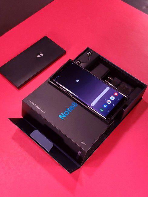 GRATIS AIRPODS Samsung Note 8 en Caja Accesorios desbloqueado TMobile ATT Sprint Cricket MetroPCS