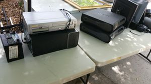 Computers towers, VHS/DVD combo for Sale in Orlando, FL