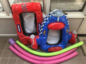 Swim noodles, Inflatable floats for Sale in Seattle, WA