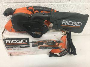Photo Ridgid 6.5 Amp Corded 3 in. x 18 in. Heavy Duty Variable Speed Belt Sander