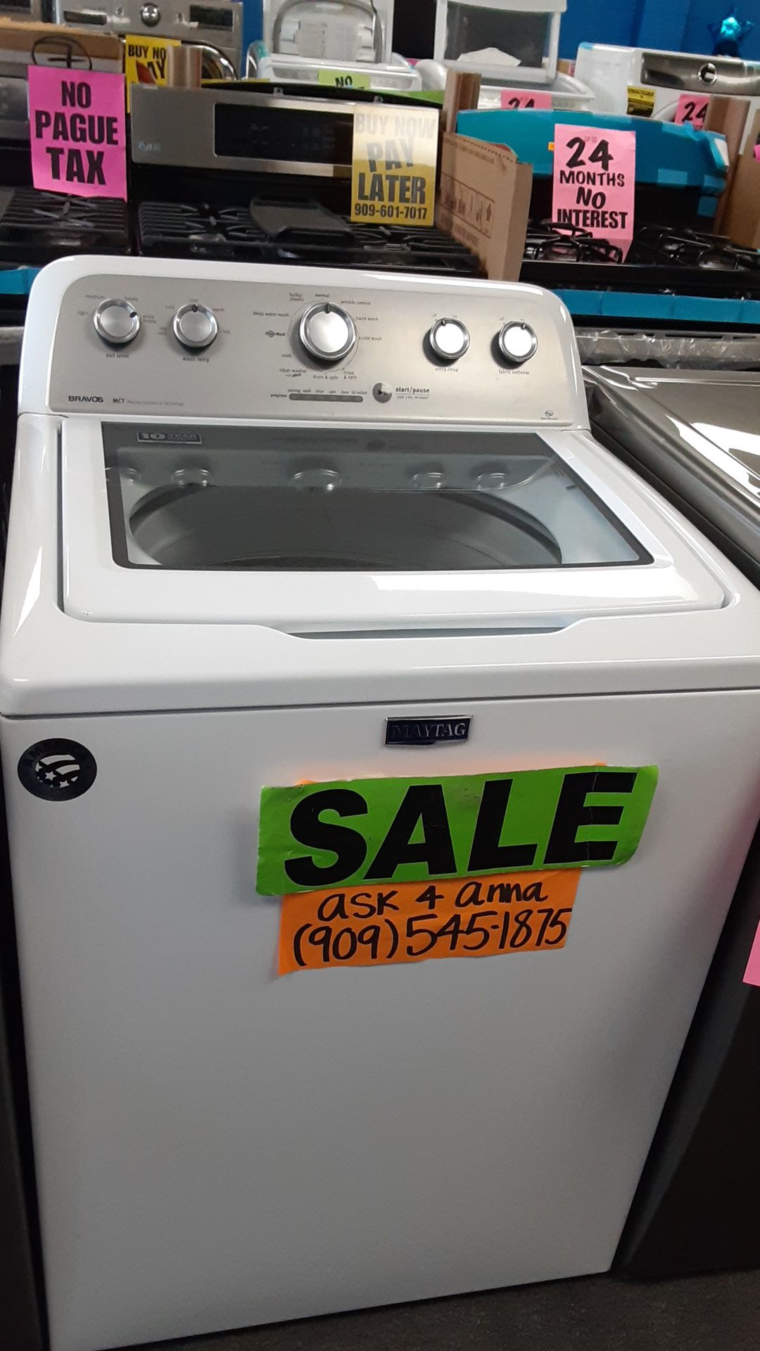 🔴Maytag topload washer 🔹️🔸️ASK 4 ANNA🦋🚚SAME DAY DELIVERY🚚💲PAYMENT PLANS AVAILABLE💲❌NO CREDIT NEEDED❌