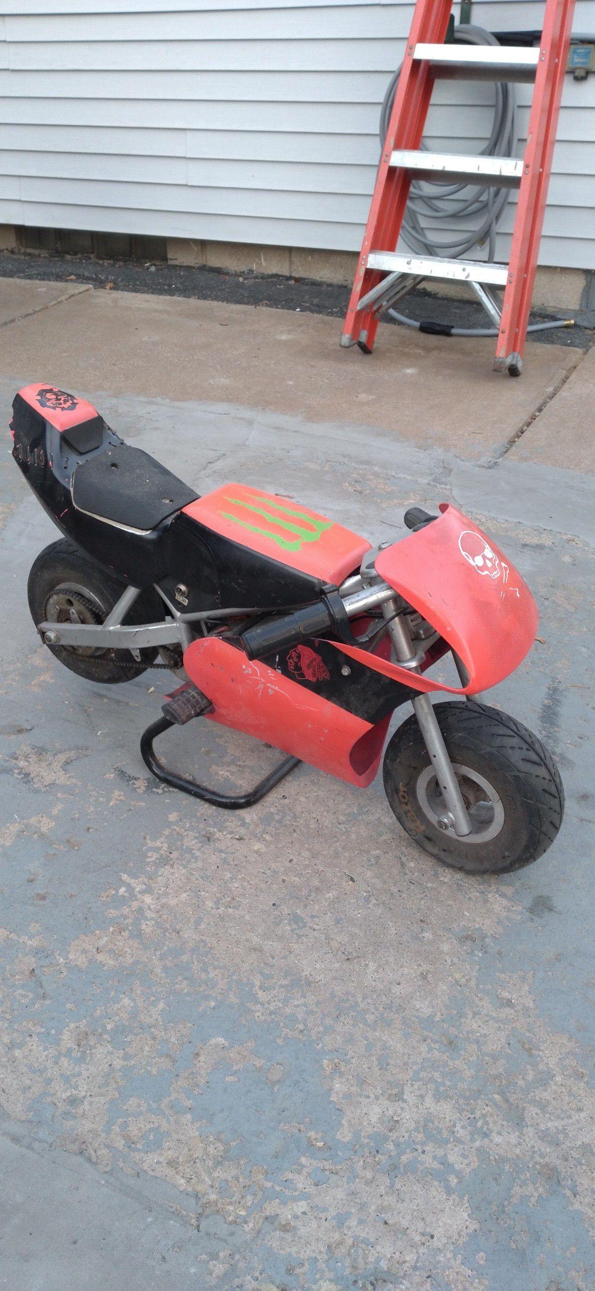 Photo Pocket Rocket, mini bike