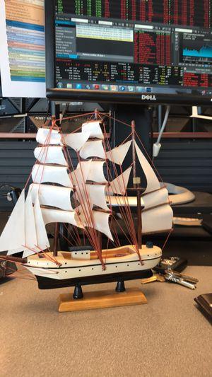 Sail boat wood model for Sale in Santa Monica, CA