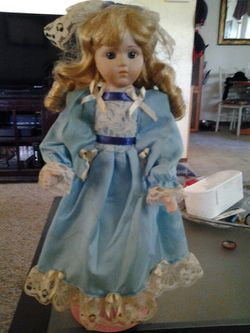 Vintage Porcelain Doll Thumbnail