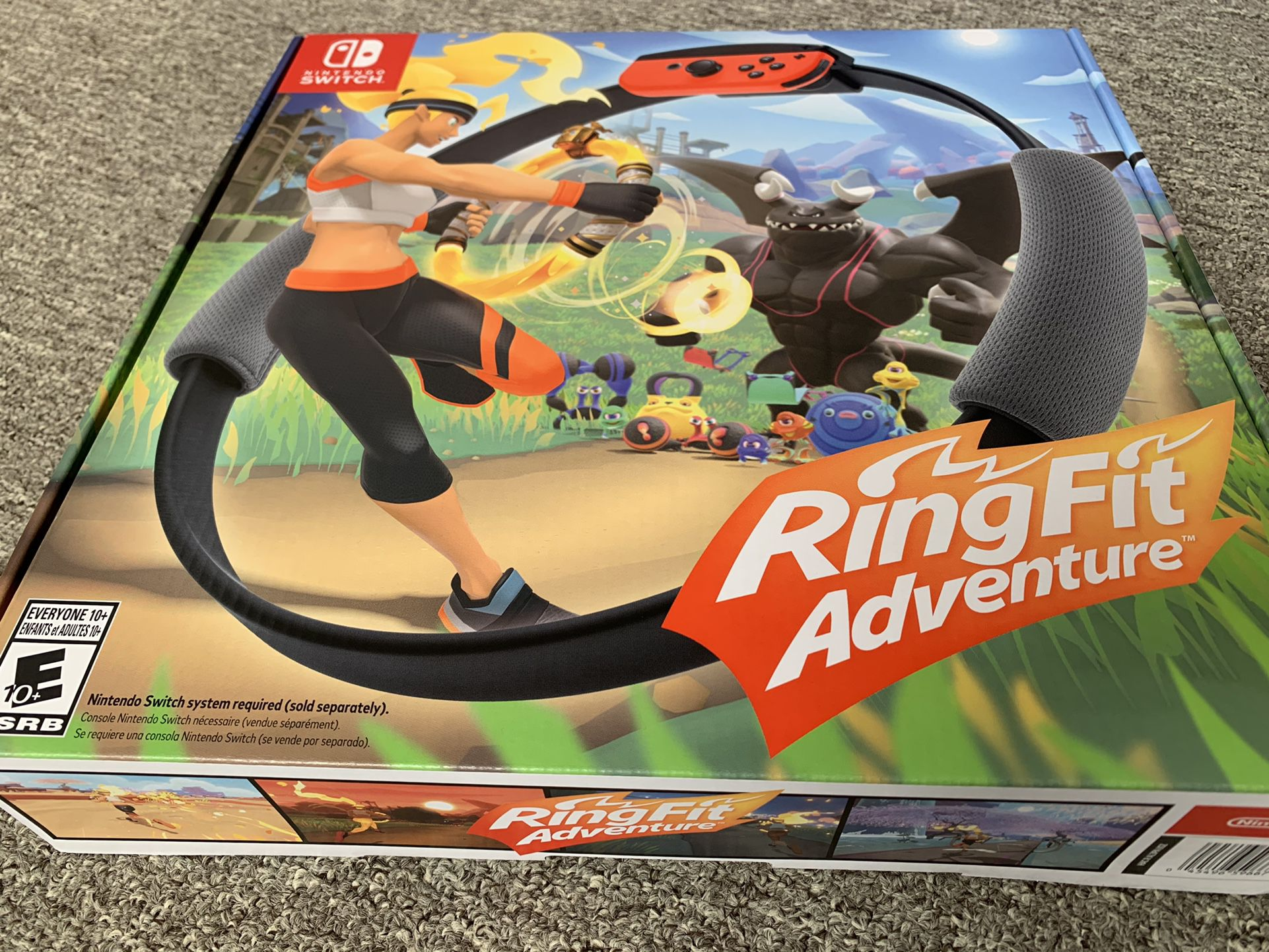 New Ring Fit Adventure for Nintendo Switch