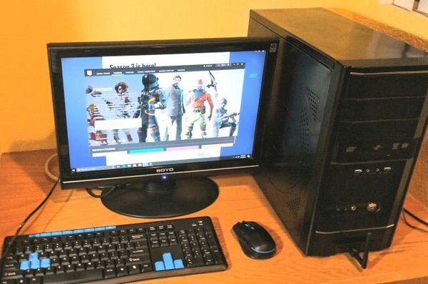 Budget Gaming Pc Quad Core Cpu Gtx 660 Fortnite For Sale In