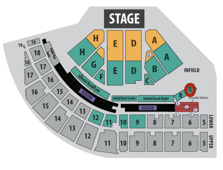 Ice cube & Ginuwine Tickets- Puyallup Fair 9/17