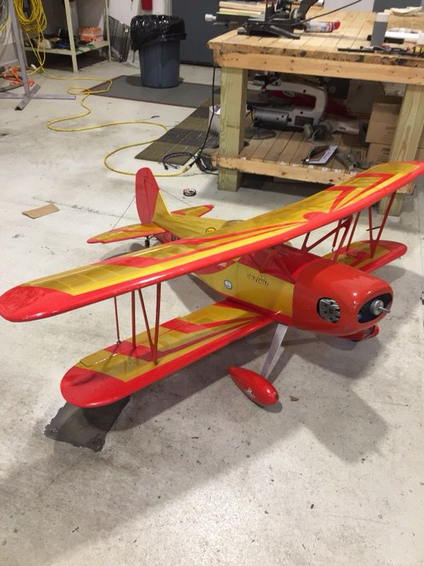 Rc airplane futaba spectrum nitro plane Christmas for Sale in Elgin, IL -  OfferUp