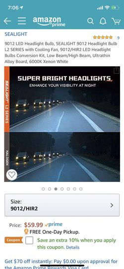 LED Car led headlights kit leds H4 H7 H8 H9 H9 H11 H10 9003 9004 9005/HB3 9006/HB4 9007 9008 H13 All size in stock Pick up with your car inf Thumbnail