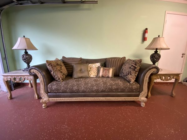 Sofa & 2 night stand for sale for Sale in Houston, TX ...