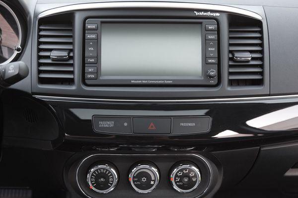 Mitsubishi Navigation GPS MMCS for Lancer like new complete  for Sale in  Miramar, FL - OfferUp