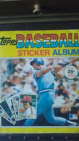Topps 1980 Baseball sticker Album for Sale in Kissimmee, FL