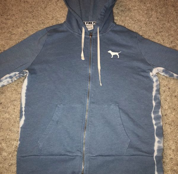 """720f081b47923 Victoria Secret zip up hoodies """"pink line"""" for Sale in Apple Valley, CA -  OfferUp"""