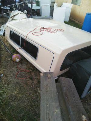 Camper shell long before full size truck for Sale in Hemet, CA