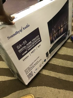 Sa-55 home theater speakers for Sale in Chicago, IL