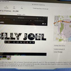 Billy Joel @ Fenway Thumbnail