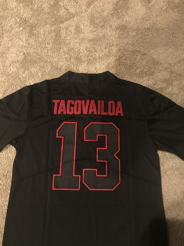sale retailer 49462 aab80 Tua Tagovailoa Alabama Crimson Tide Jersey NWT for Sale in New Albany, OH -  OfferUp