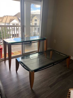 Great deal! 3 tables included. Coffee table, sofa table & side table for Sale in Ashburn, VA