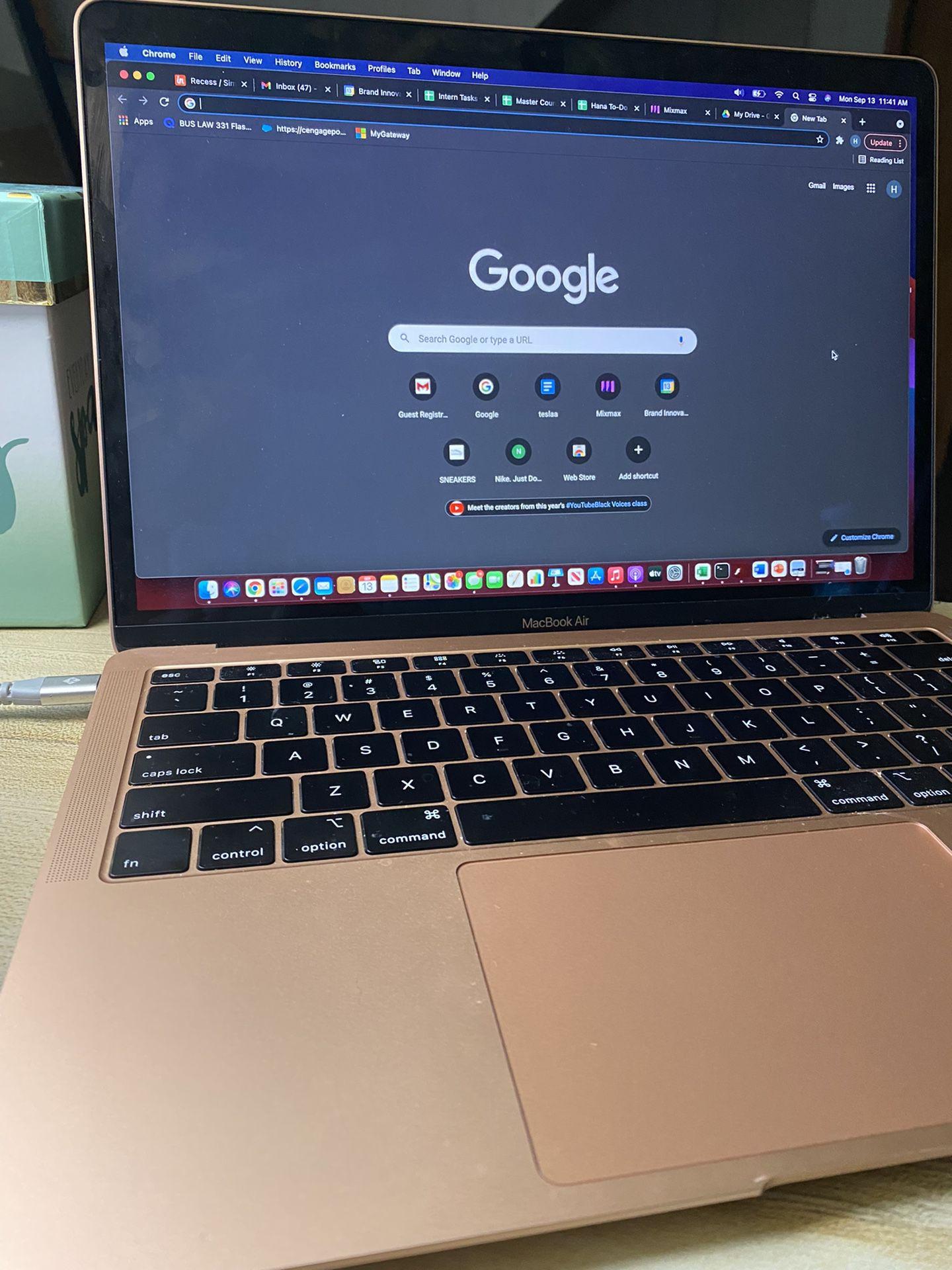 MacBook Air Rose gold 2019