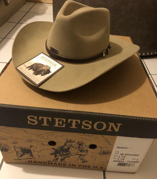 d6b72da24e37e Stetson Seneca Silversand 4x for Sale in San Diego