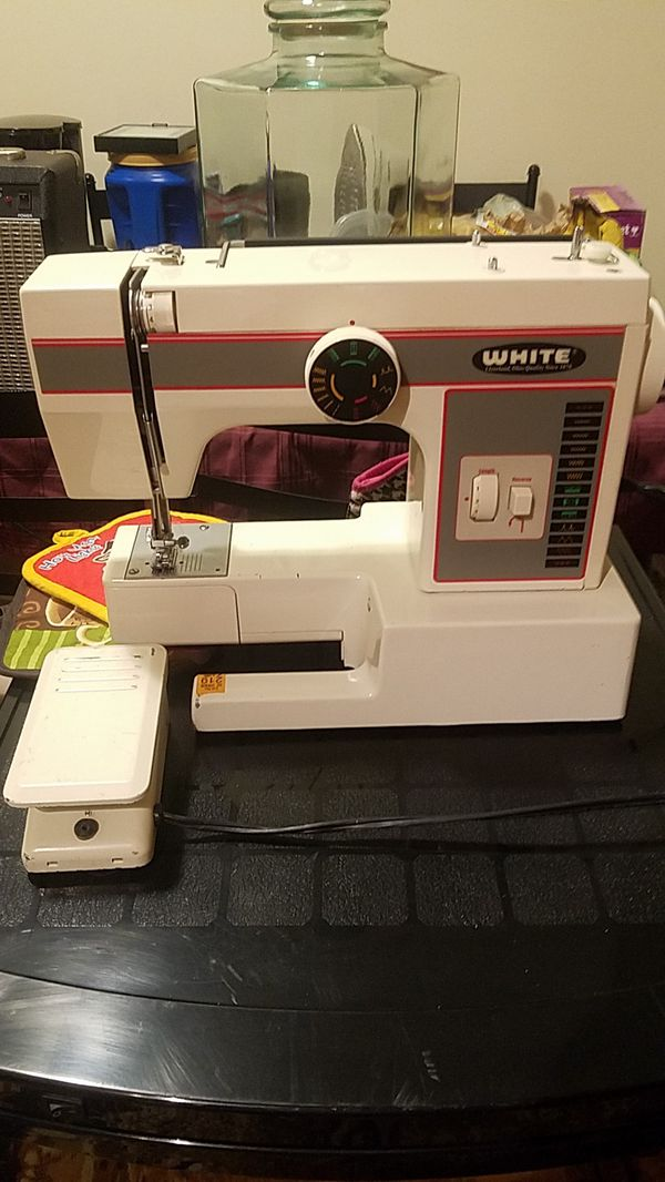 White Sewing Machine Model Number 40 For Sale In Richmond VA Cool White Sewing Machine 1477