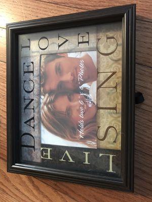Dance, Live, Love picture frame box for Sale in Springfield, VA