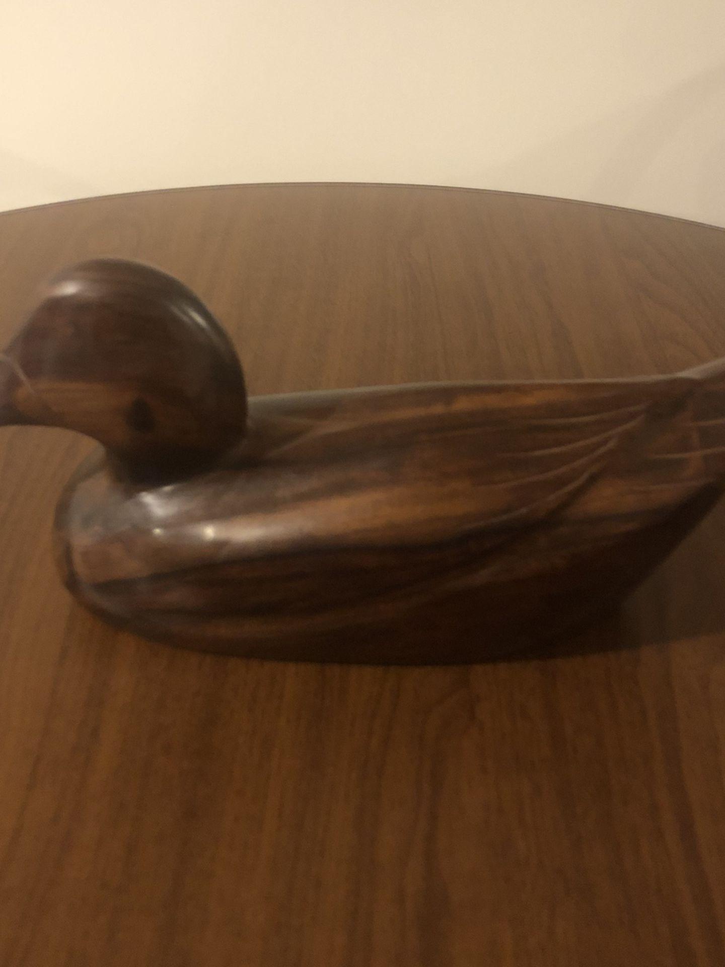 Antique Wooden Duck