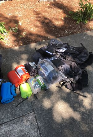 Camping my klymit for Sale in Seattle, WA