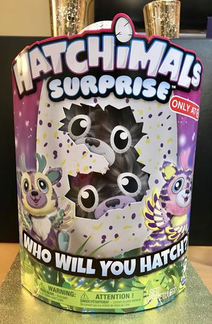 NEW HATCHIMALS SURPRISE TARGET EXCLUSIVE TWINS DEERIOLE LIMITED EDITION For Sale In San Francisco CA