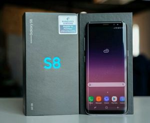 SamsungGalaxy S8  Factory Unlocked + box and accessories + 30 day warranty for Sale in Westlake, MD
