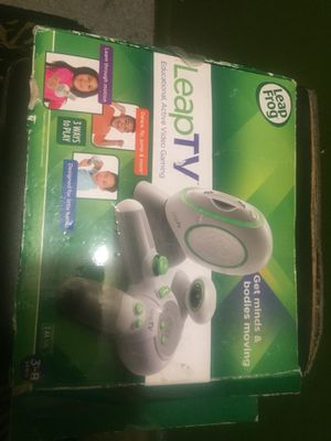 Brand new never used leap tv educational,active video gaming for kids for Sale in Alexandria, VA