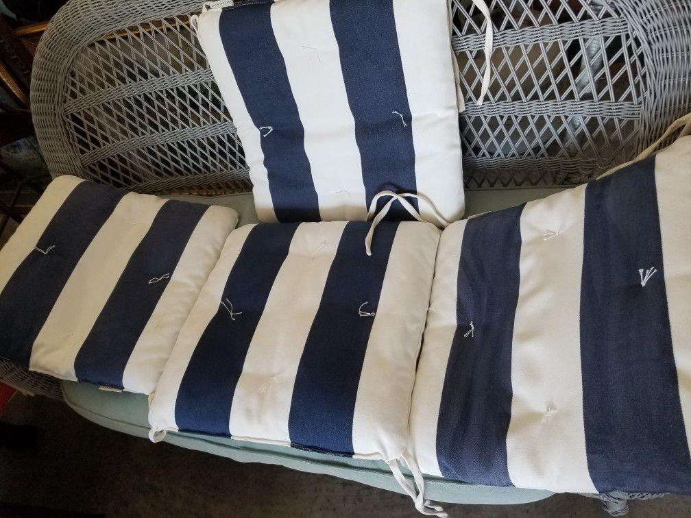 Pottery Barn Outdoor Cushions