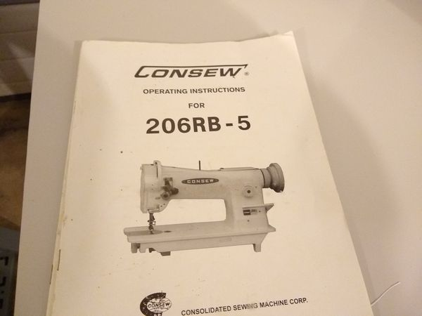 Consew 40 Industrial Sewing Machine For Sale In Camas WA OfferUp Unique Consew 230 Sewing Machine