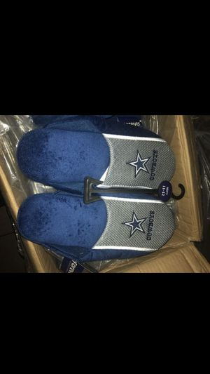 Dallas Cowboys Drawstring Backpack & Slippers for Sale in Downey, CA