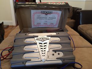 Kicker kx600.1 class D Subwoofer Amplifier. for Sale in Washington, DC