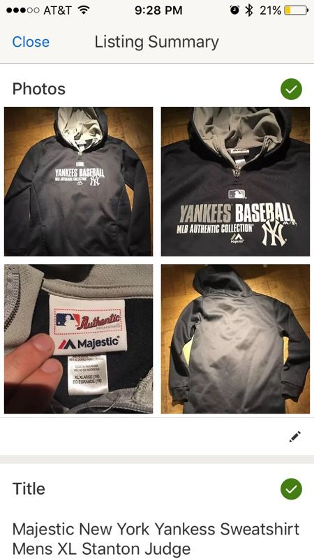 size 40 88bf1 75bdd Majestic New York Yankees Sweatshirt Men's XL for Sale in Seattle, WA -  OfferUp
