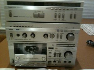 AIWA Stereo Components, Sony CD Player for Sale in Rockville, MD