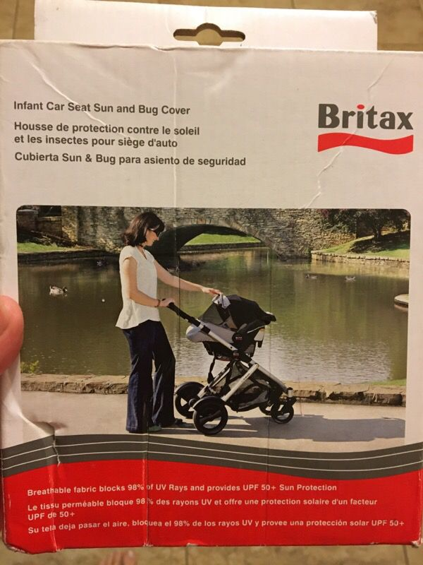 Britax infant seat sun & bug cover for Sale in Port St. Lucie, FL ...